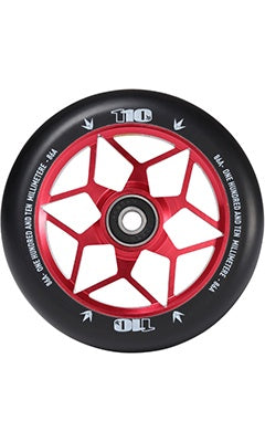 Envy Diamond Scooter Wheel Set 110mm Red