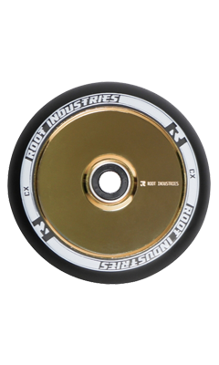 Root Industries AIR Wheels 110mm Black/Gold Rush