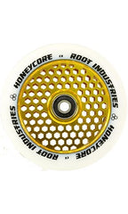 Root Industries HoneyCore Scooter Wheel Set 110mm White/Gold