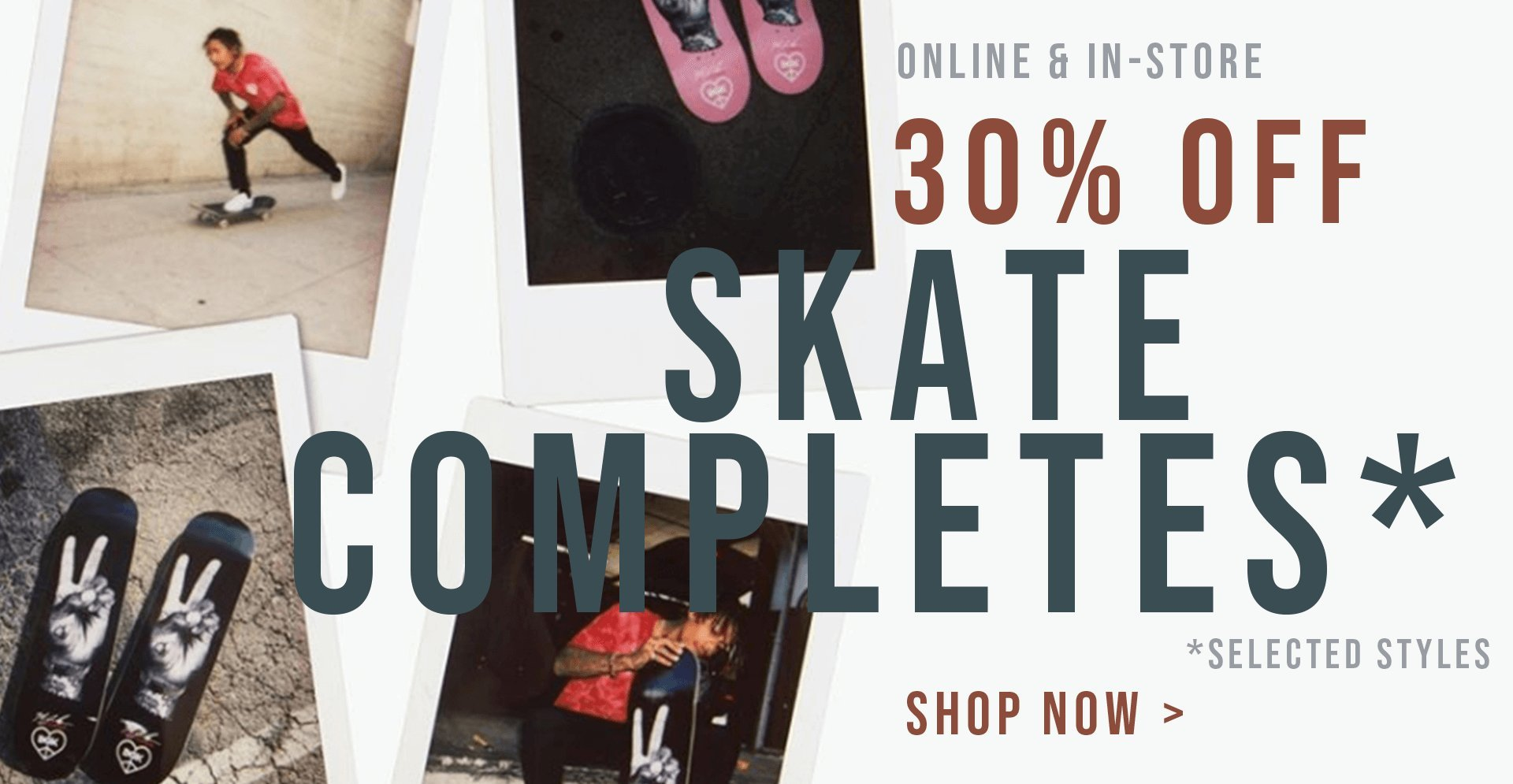 4a374f6b0cd Skate Connection Skateboard Completes 30% off Sale
