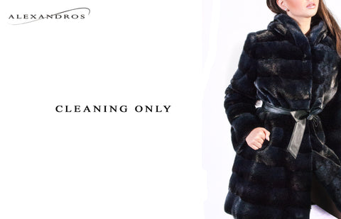 Cleaning Only - Fur, Leather, Shearling, Cashmere - alexandros-furs