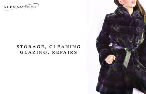 Storage, Cleaning, Glazing and Repairs - alexandros-furs