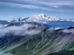 Mont Blanc is the highest peak in Europe.