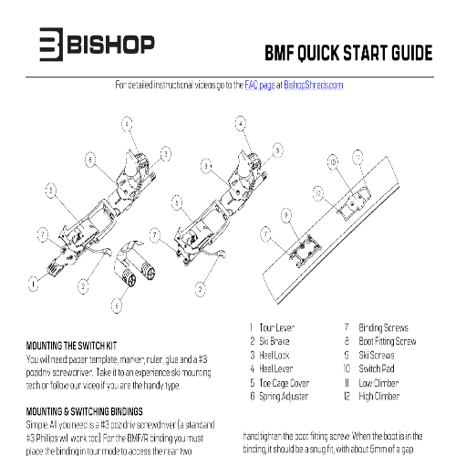 BMF Quick Start Guide