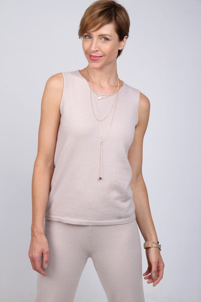 Merino and cashmere - Tank Top