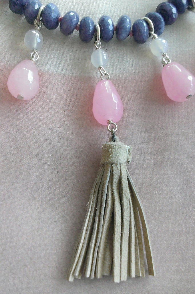 PINK POWDER necklace LGPS028