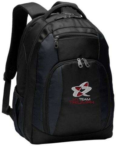 Commuter Backpack w/ Embroidered Logo