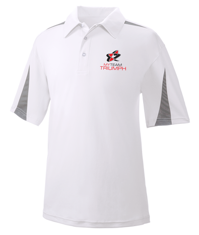 UltraClub® Adult Cool & Dry Sport Polo w/ Embroidered Logo