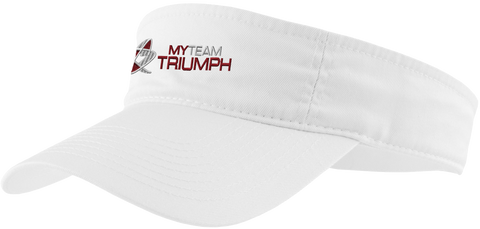 Visors Embroidered w/ the myTEAM TRIUMPH logo!!!