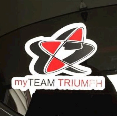 myTEAM TRIUMPH Window Sticker