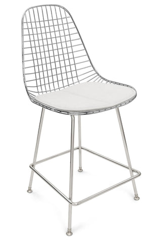 "Modernica H-Base 25"" Stool Wire Chair -  - 1"