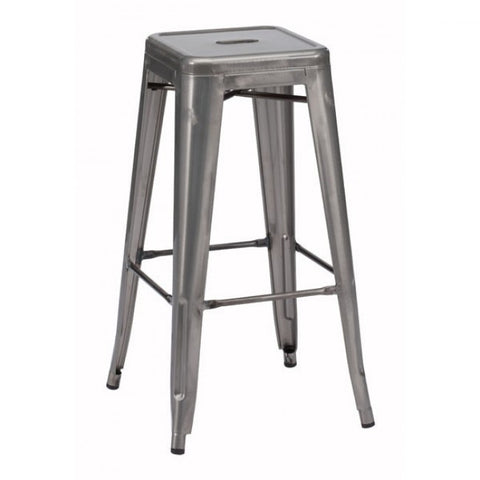 Marius Steel Bistro Bar Stool