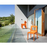 Compamia Lucca Resin Outdoor Dining Chair - Set of 2 -  - 9
