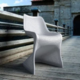 Compamia Bloom Modern Resin Outdoor Chair - Set of 2 -  - 4