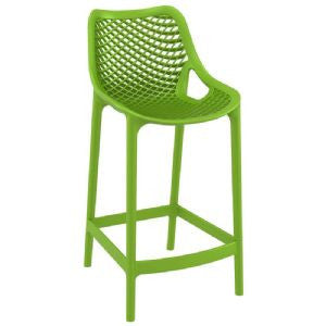 Compamia Air Indoor Outdoor Resin Modern Counter Chair - Set of 2 -  - 3