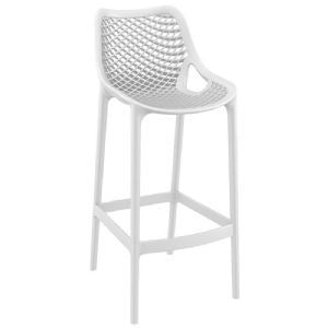 Compamia Air Indoor Outdoor Resin Modern Bar Stool - Set of 2 -  - 3