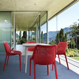 Compamia Air Dove Indoor Outdoor Resin Modern Chair - Set of 2 -  - 12
