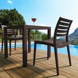 Compamia Ares Indoor Outdoor Resin Dining Chair - Set of 2 -  - 9