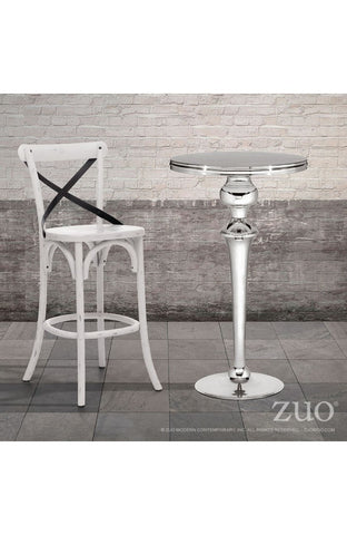 Zuo Modern Molokai Stainless Steel Bar Table - Set of 2 -  - 1