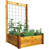 Gronomics Easy Assembly Raised Garden Bed 48X48X19 - Finished - gardenmybalcony.com - 1