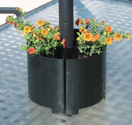 Nmn Designs Umbrella Pole Tabletop Planter
