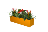 Bonn Low Rectangle Fiberglass Planter