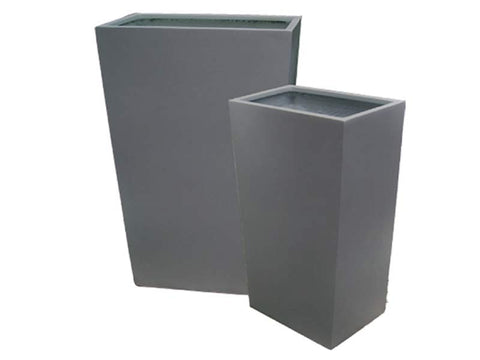 Amsterdam Tapered Fiberglass Rectangular Planter