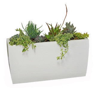 Panama Tapered Fiberglass Rectangular Planter