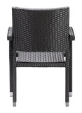 Zuo Boracay Set of 2 Outdoor Dining Chair -  - 4