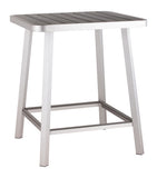 Zuo Modern Megapolis Aluminum Bar Table -  - 2