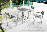 Zuo Modern Megapolis Aluminum Bar Table -  - 4