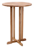 Zuo Modern Trimaran Teak Wood Bar Table -  - 1