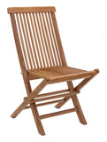 Zuo Modern Regatta Teak Wood Folding Chair - Set of 2 -  - 1