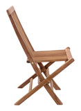 Zuo Modern Regatta Teak Wood Folding Chair - Set of 2 -  - 2