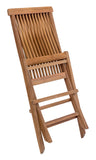 Zuo Modern Regatta Teak Wood Folding Chair - Set of 2 -  - 5