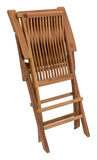 Zuo Modern Regatta Teak Wood Folding Arm Chair - Set of 2 -  - 5
