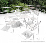 Zuo Modern Wald Outdoor Dining Arm Chair - Set of 2 -  - 4