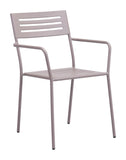 Zuo Modern Wald Outdoor Dining Arm Chair - Set of 2 -  - 1