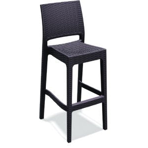 Compamia Jamaica Wickerlook Resin Outdoor Bar Stool - Set of 2 -  - 1