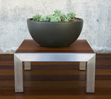 Modernica Case Study® Ceramic Bowl Pot Planter - Large - gardenmybalcony.com - 1
