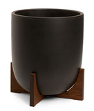 Modernica Case Study® Ceramic Bullet Pot Planter with Stand - gardenmybalcony.com - 3