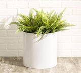 NMN Designs KnoxMod Cylinder Heavy Duty Planter - White