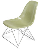 Modernica Fiberglass Low Rod - Side Shell Chair -  - 14