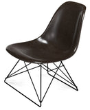 Modernica Fiberglass Low Rod - Side Shell Chair -  - 9