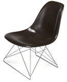 Modernica Fiberglass Low Rod - Side Shell Chair -  - 8
