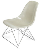 Modernica Fiberglass Low Rod - Side Shell Chair -  - 10