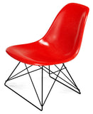 Modernica Fiberglass Low Rod - Side Shell Chair -  - 3