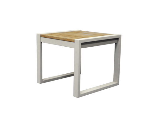 Classic indoor outdoor natural solid teak wood side table for Solidworks design table zoom