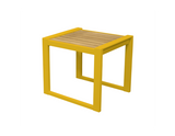 Avalon Indoor Outdoor Natural Solid Teak Wood Side Table - gardenmybalcony.com - 5