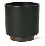 Modernica Case Study® Stoneware Ceramic Cylinder Planter with Plinth - gardenmybalcony.com - 6